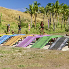 Lavita competes in the sixth individual Immunity Challenge, <i><a href=
