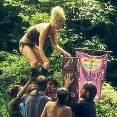 Galu during an Immunity Challenge.