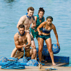 Manu competes in the Immunity Challenge, <i><a href=