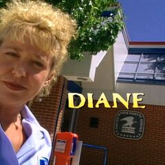 Diane being introduced to the show.