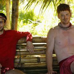 Ryan and Patrick at Yawa.