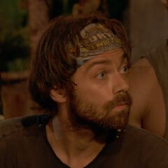 Christian at Kalokalo's second Tribal Council.