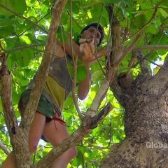 Tyson finds his second Hidden Immunity Idol.