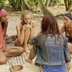 The girls plan a revolt.