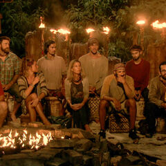 Solewa at their third Tribal Council.