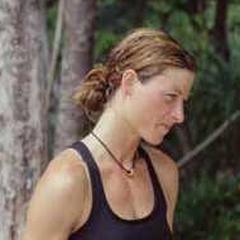 Stephanie at camp.
