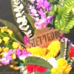 Stephanie's wreath in the <a href=