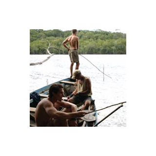 The men fishing