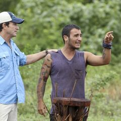 Brandon upset with Phillip running the tribe.
