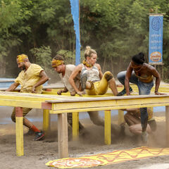Soko at the third Immunity Challenge, <i><a href=