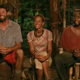 Mike at the Final Tribal Council.
