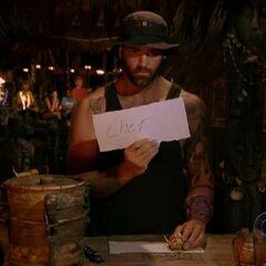 Joel's last vote.
