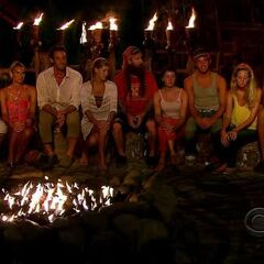 The fans at Tribal Council.