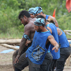 Banda competing in the eighth Immunity Challenge, <i><a href=