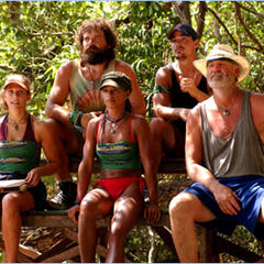 The new Mogo Mogo Tribe competes for immunity