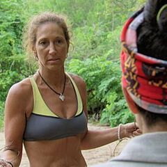 Carolyn talking to <a href=
