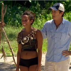 Alicia wearing the Immunity Necklace.