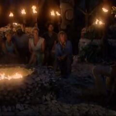Yasur's 4th Tribal Council.