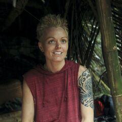 Dana at camp.