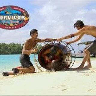 Aitu towards the end of the challenge (<i>Cook Islands</i>).
