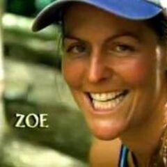 Zoe in the intro of <i>Survivor: Marquesas</i>.