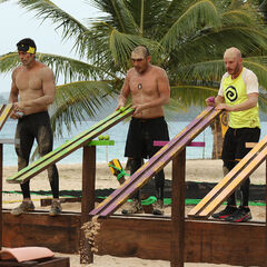 Fusión at the third individual Immunity Challenge.