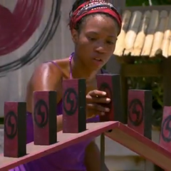 Marissa at the 2nd Redemption Island duel.