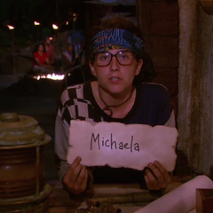Aubry voting against Michaela.