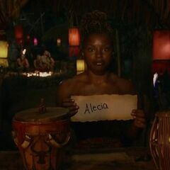 Cydney votes against Alecia for the second time.