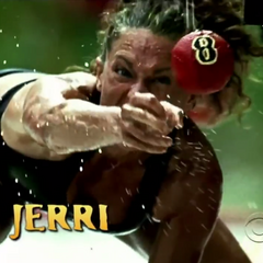 Jerri's second motion shot in the intro.