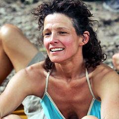Margaret at the Nakúm camp.