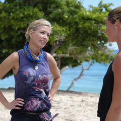Chrissy talking with <a href=
