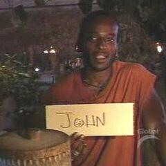 Sean votes off John.