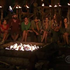 Yin Yang's second Tribal Council.