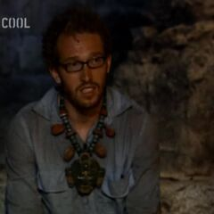 Rafe at Yaxhá's Tribal Council.