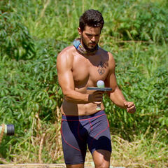 Dan competing in his final challenge, <i><a href=