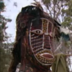 <i>Survivor: The Australian Outback</i> Immunity Idol.