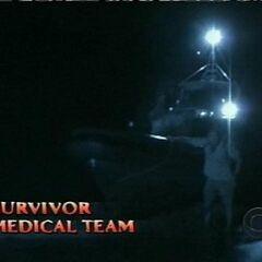 The Medical team arrives.