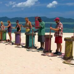 Kasama competes in the Immunity Challenge, <i><a href=
