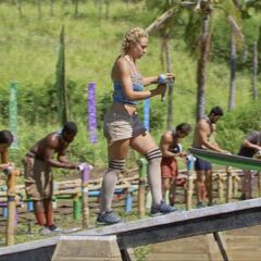 Kalokalo competes in the Immunity Challenge, <i><a href=