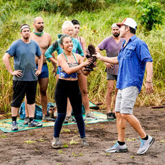Wendy winning immunity for the first time.