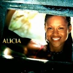 Alicia's photo in the opening.