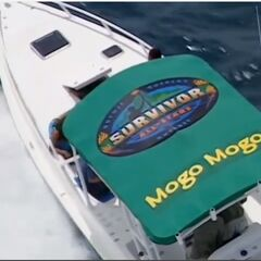 Mogo Mogo's speed boat.