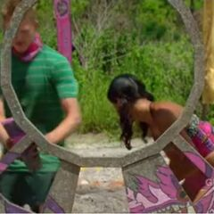 Bayon competes in the third Immunity Challenge, <i><a href=