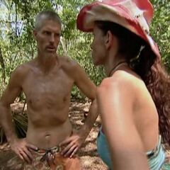 Gary talking to Danni.