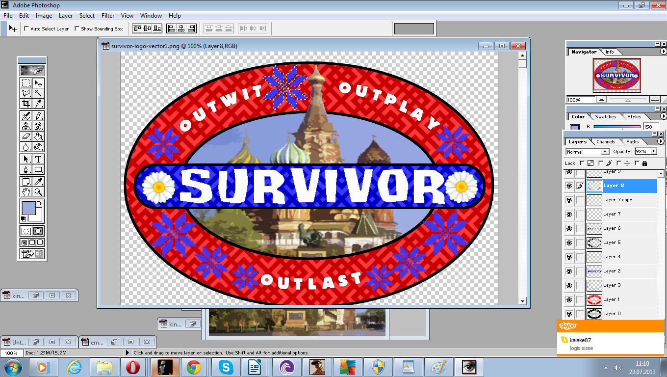 user blog waterwecna logo tutorial survivor wiki fandom powered rh survivor wikia com create your own survivor logo Editable Survivor Logo