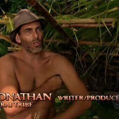 Jonathan making a confessional.