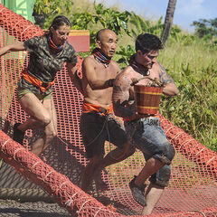 Mana competing in the third Immunity Challenge, <i><a href=