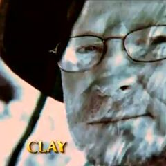 Clay's photo in the intro.