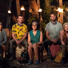 Manu at their fourth Tribal Council.